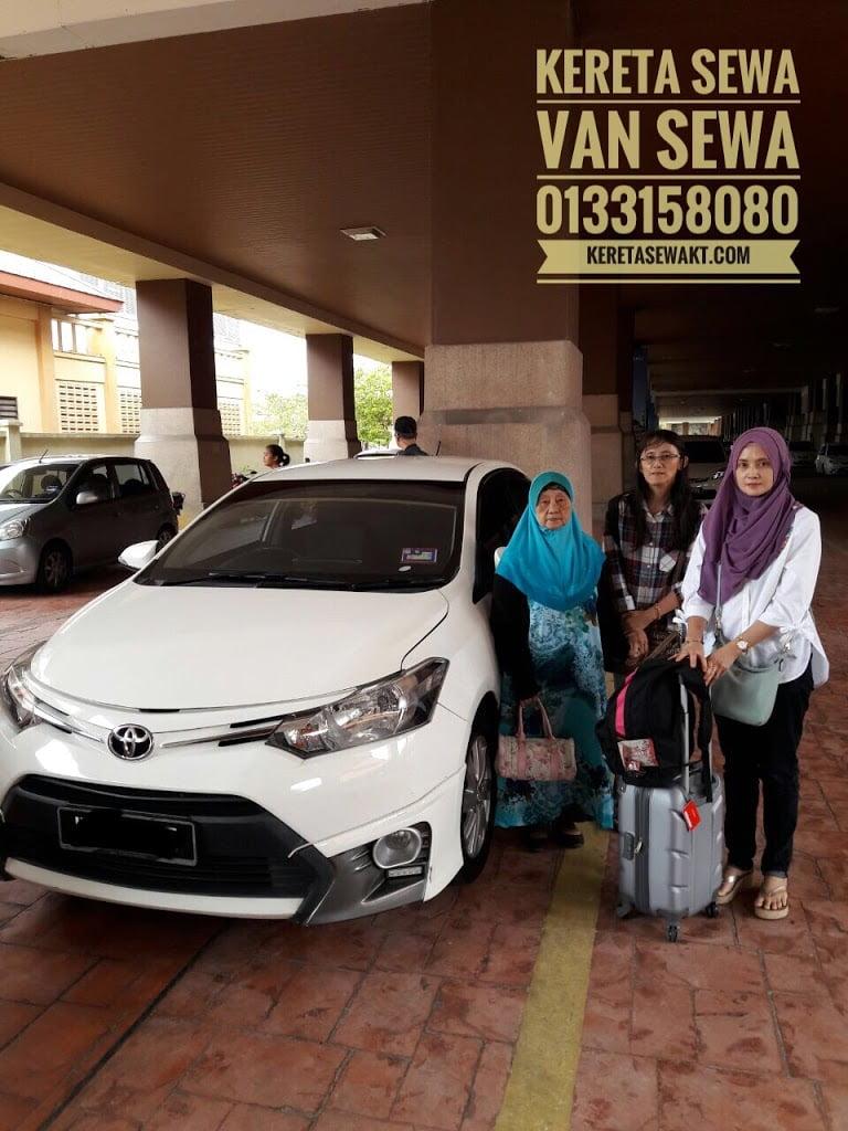 Kenangan Bersama Pelanggan Kereta Sewa Kuala Terengganu