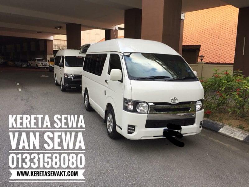 Sewa Van Hiace Di Airport Kuala Terengganu