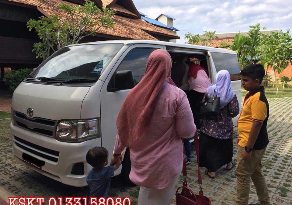 Sewa Van Beserta Pemandu Di Kuala Terengganu