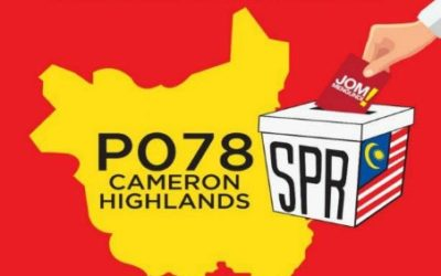 Pilihan Raya Kecil Cameron Highlands 2019